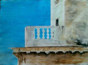 Watercolour on paper 76x56 cm 2015